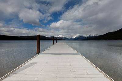Daysray Photograph - End Of The Dock by Fran Riley