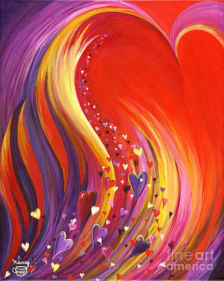 Painting - Arise My Love by Nancy Cupp