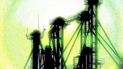 Energize Field Print by Cyryn Fyrcyd