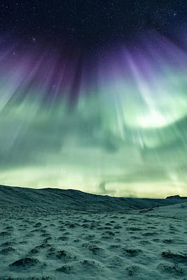 Polar Aurora Photograph - Energized by Tor-Ivar Naess