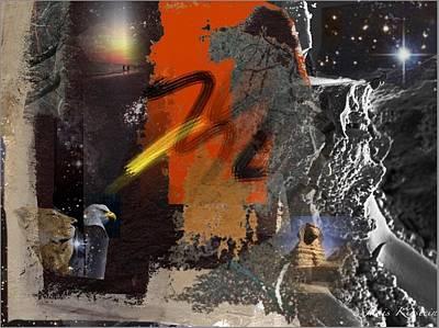 Energy Fields 2 Print by Janis Kirstein