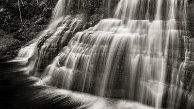 Finger Lakes Photograph - Lower Falls #2 by Stephen Stookey