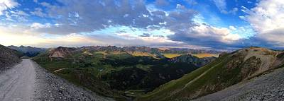 Photograph - Engineer Pass Pano by Crystal Magee