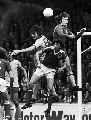 Goalkeeper Photograph - England: Soccer Match, 1977 by Granger
