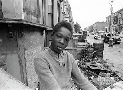 Ghetto Photograph - English Boy by The Phillip Harrington Collection