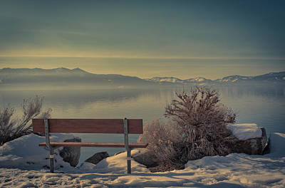 Kim Photograph - Enjoy The View - Lake Tahoe by Kim Hojnacki