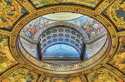 Enlightened In Proportion - Missouri - State Capitol Print by Nikolyn McDonald