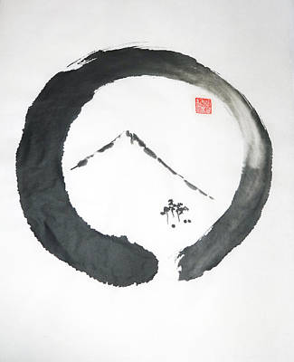 Enso Painting - Enso Noble by Casey Shannon