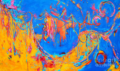 Art And Energetic Painting - Entangled No. 3 A Reflection Of Life by Patricia Awapara