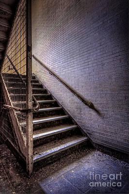Asylum Photograph - Enter The Darkness by Evelina Kremsdorf