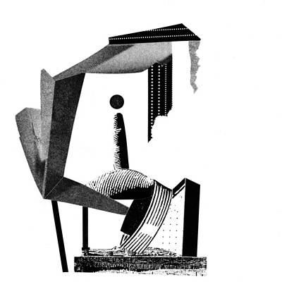 Xerox Digital Art - Equilibrium #11 by Jim Ford