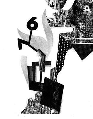 Xerox Digital Art - Equilibrium #12 by Jim Ford