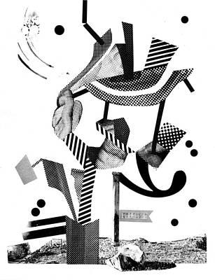 Xerox Digital Art - Equilibrium #4 by Jim Ford