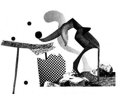 Xerox Digital Art - Equilibrium #6 by Jim Ford