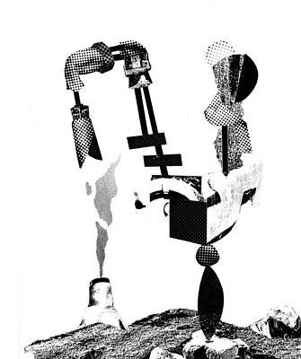 Xerox Digital Art - Equilibrium #9 by Jim Ford