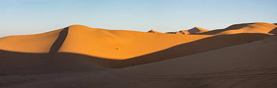 Erg Chebbi Dunes Just After Sunrise Print by Panoramic Images