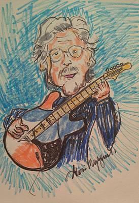 Eric Clapton Drawing - Eric Clapton  by Geraldine Myszenski