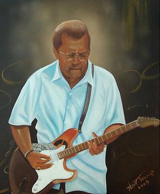 Eric Clapton Painting - Eric Clapton by Helen Thomas