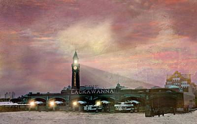 Erie Lackawanna Transit Print by Diana Angstadt
