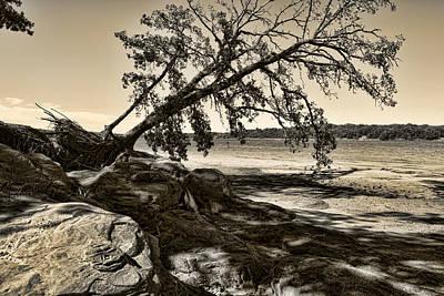 Landscape Photograph - Erosion - Anselized by Ricky Barnard