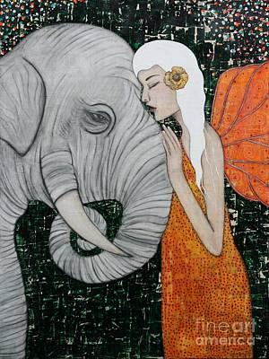 Painting - Erynn Rose by Natalie Briney