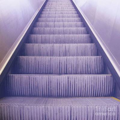 Escalier 3 Print by Reb Frost