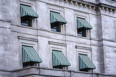Window Photograph - Escambia County Courthouse Windows by Joan Carroll