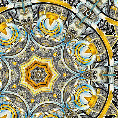 Escher Glass Kaleido Abstract #1 Print by Peter J Sucy