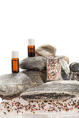 Aromatherapy Photograph - Essential Oil From Pepper by Wolfgang Steiner