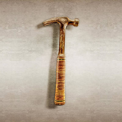 Hammer Photograph - Estwing Ripping Hammer by YoPedro