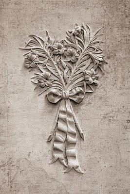 Reliefs Photograph - Eternal Lilies by Tom Mc Nemar