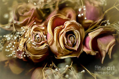 Rose Gold Photograph - Eternally by Lois Bryan
