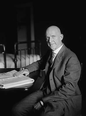 Labor Union Photograph - Eugene Debs by War Is Hell Store