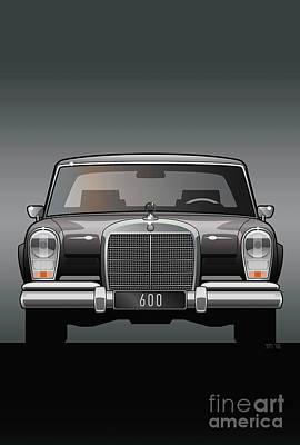 Euro Classic Series Mercedes-benz W100 600 Original by Monkey Crisis On Mars