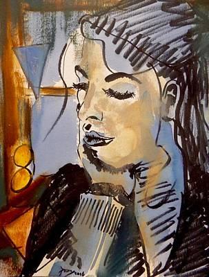 Visceral Mixed Media - Eva Desayuno by Pearse Gilmore