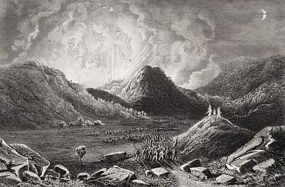 Tennessee Drawing - Evacuation Of Cumberland Gap Tennessee by Vintage Design Pics