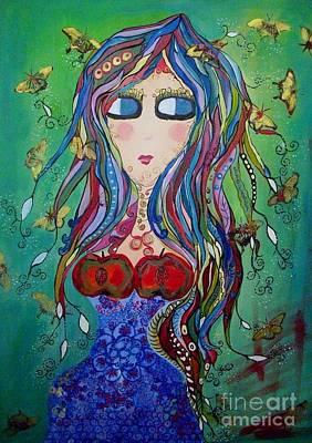 EVE Original by Mrs Wilkes Art