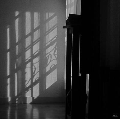 Screen Doors Photograph - Evening At Home by Susan Eileen Evans