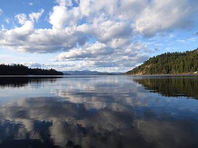 Photograph - Evening At Priest Lake 2 by Feva  Fotos