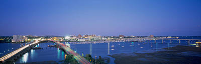 Evening Charleston Sc Print by Panoramic Images