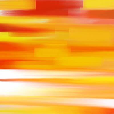 Mood Painting - Evening Sea by Frank Tschakert