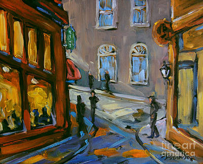 Painting - Evening Shadow By Prankearts by Richard T Pranke