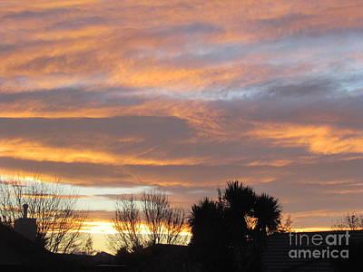 Evening Sky Print by Joyce Woodhouse