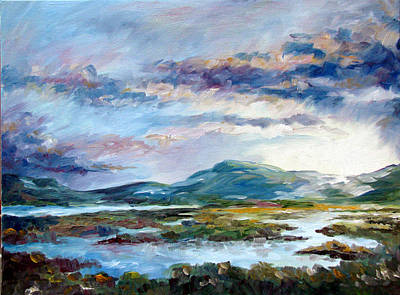 Painting - Evening Sonnet by David  Maynard