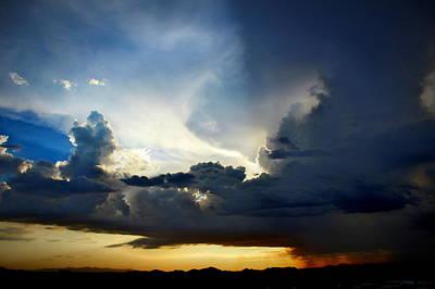 Digital Art - Evening Storm by Dan Stone