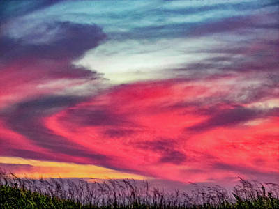 Sauble Photograph - Evening's Palette 2 by Steve Harrington