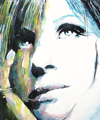 Vocalist Painting - Evergreen by Paul Lovering