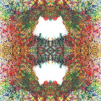 Every Change Is A Good Change #1319 Print by Rainbow Artist Orlando L aka Kevin Orlando Lau
