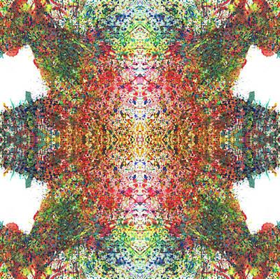 Every Change Is A Good Change #1321 Print by Rainbow Artist Orlando L aka Kevin Orlando Lau