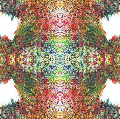 Every Change Is A Good Change #1322 Print by Rainbow Artist Orlando L aka Kevin Orlando Lau